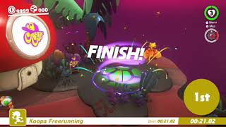 Super Mario Odyssey - Koopa Freerunning Speedrun Compilation!