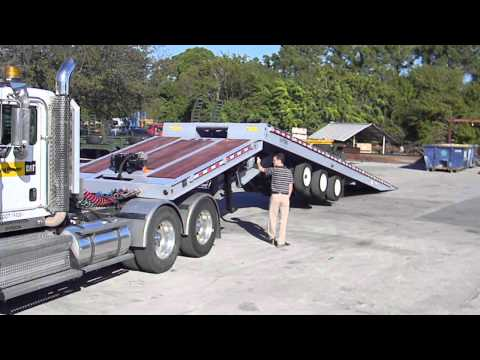 New Globe Trailers Sliding Axle Trailer