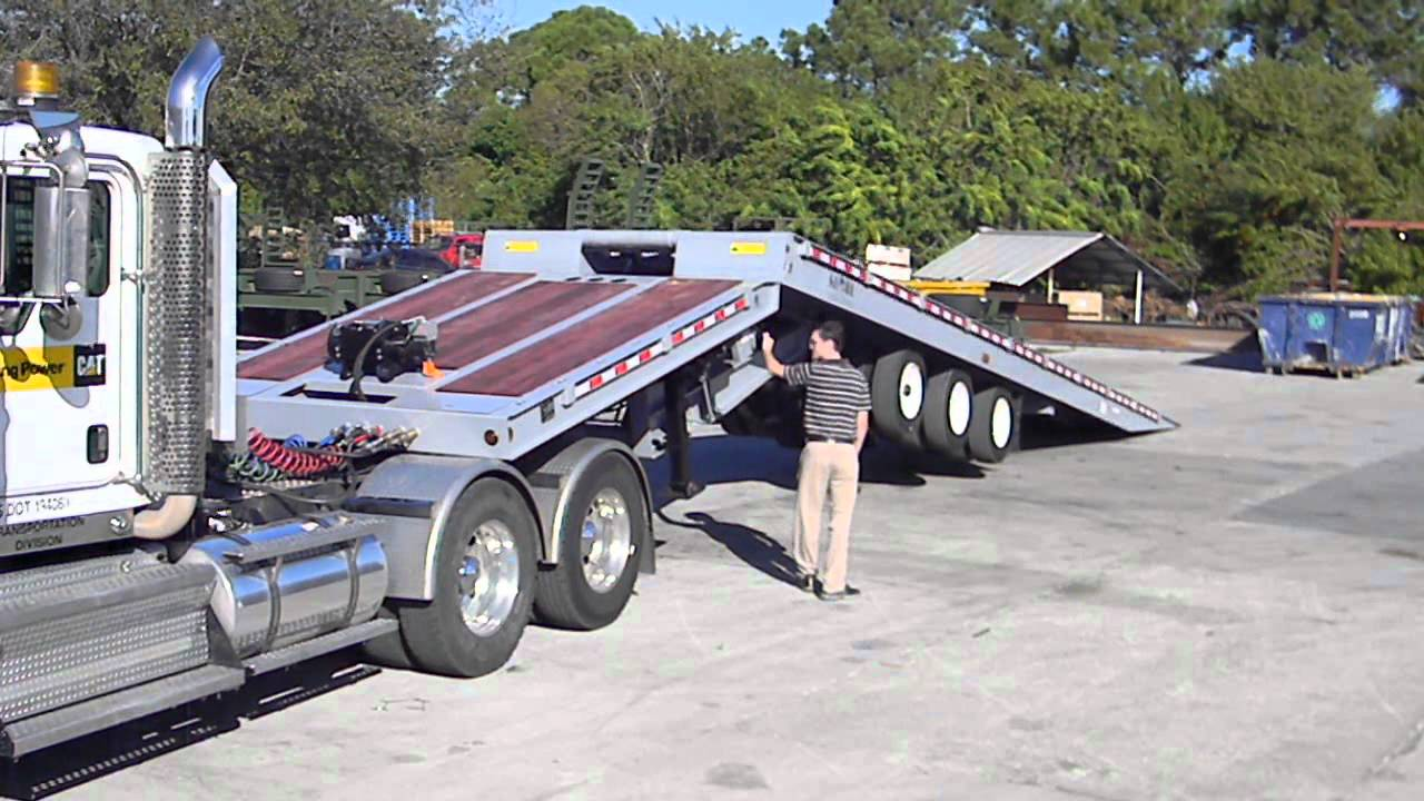 Used Traveling Axle Trailer For Sale