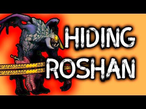 DotA 2 Big Roshan Visual Bug Doovi