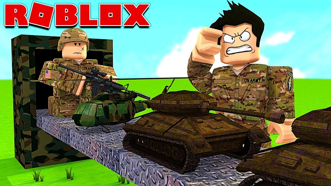 Ma Base De Soldats Roblox Army Tycoon Youtube