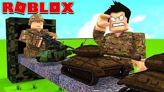MA BASE DE SOLDATS ! (Roblox Army Tycoon)