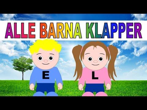 Alle barna klapper - med animasjon