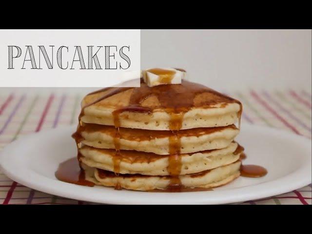 Ricetta Pancake Americani Giallo Zafferano.Pancakes Americani Soffici E Alti Per La Colazione Ricetta Facile E Veloce Ricetta Di Mehl Channel Youtube