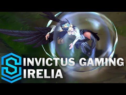 Invictus Gaming Irelia Skin Spotlight - Pre-Release - League of Legends