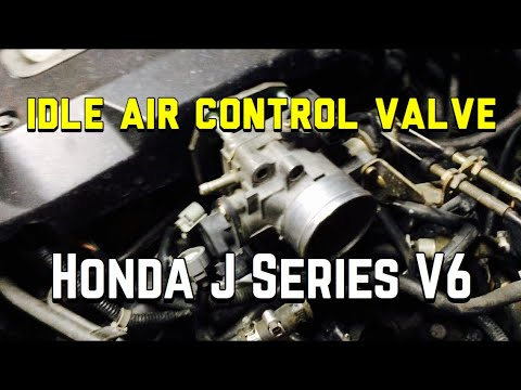 Honda Accord V6 Idle Air Control Valve Replacement - IACV - Odyssey Pilot  CR-V TL CL MDX