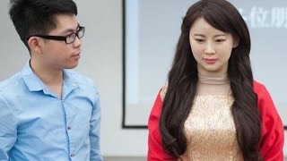 "Chinese Build ""Robot Goddess"" That Does Whatever Men Say"