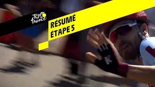 Samenvatting vijfde etappe van Tour de France 2019