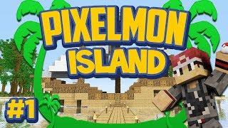 Pixelmon Island Special Mini-Series! Episode 1 - Welcome to Pixelmon Island!