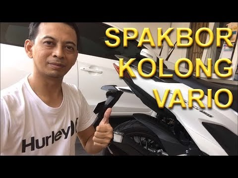 Diy : Pasang Spakbor Kolong Honda Vario  Hugger