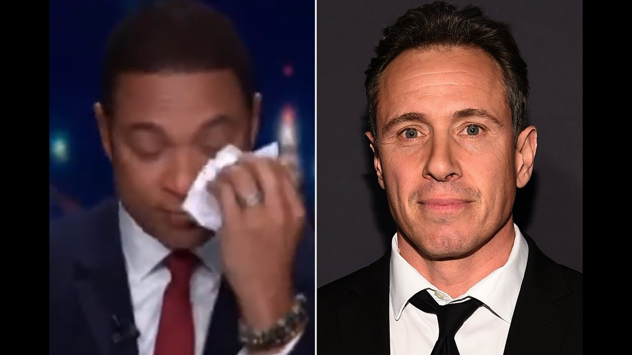 Don Lemon Wipes Away Tears Discussing Co-Worker Chris ...