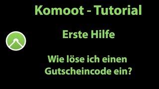 Komoot Erste Hilfe - Wie löse ich einen Gutscheincode ein?
