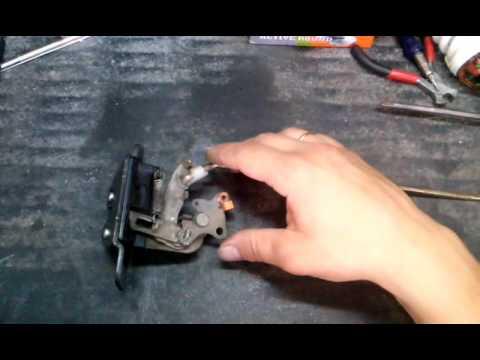 Mitsubishi Delica ремонт замка задней двери (клапана)