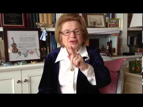 Dr. Ruth Westheimer Video for Hashomer Hatzair