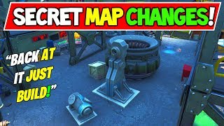 "*NEW* FORTNITE SECRET MAP CHANGES ""Rift Beacon ReBuild Starts!"" (Week 4)"