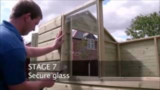 How To Build A Tanalised Apex Shed By Taylors Garden Buildings