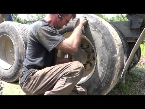 How To Replace Brakes On A Dump Truck (HD)