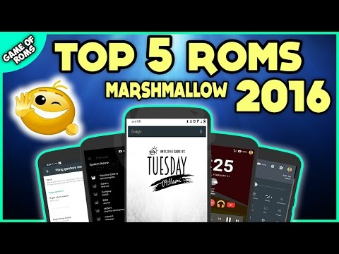 TOP 5 ANDROID MARSHMALLOW ROMS OF 2016 FOR ONEPLUS ONE