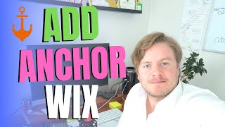 How To Add Anchor In Wix