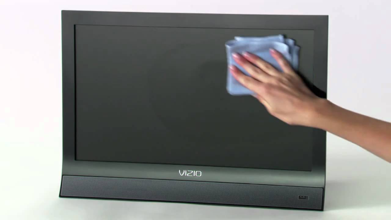 How to clean lcd plasma flat screen tvs with escreen How to clean flat screen tv home remedies