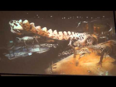 The Life and Times of a Tyrannosaurus rex presented by Dr. Thomas R. Holtz, Jr.