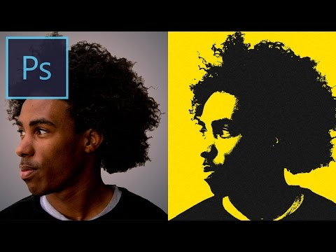 Photoshop CC Tutorial: How to create a textured Pop Art Photo Effect (Easy & Quick!)