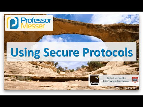 Using Secure Protocols - CompTIA Network+ N10-006 - 3.3