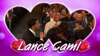 Lance Stephenson Double Kiss Cam  ESPYS Award 2014