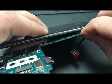 LG K7 замена дисплея , разборка