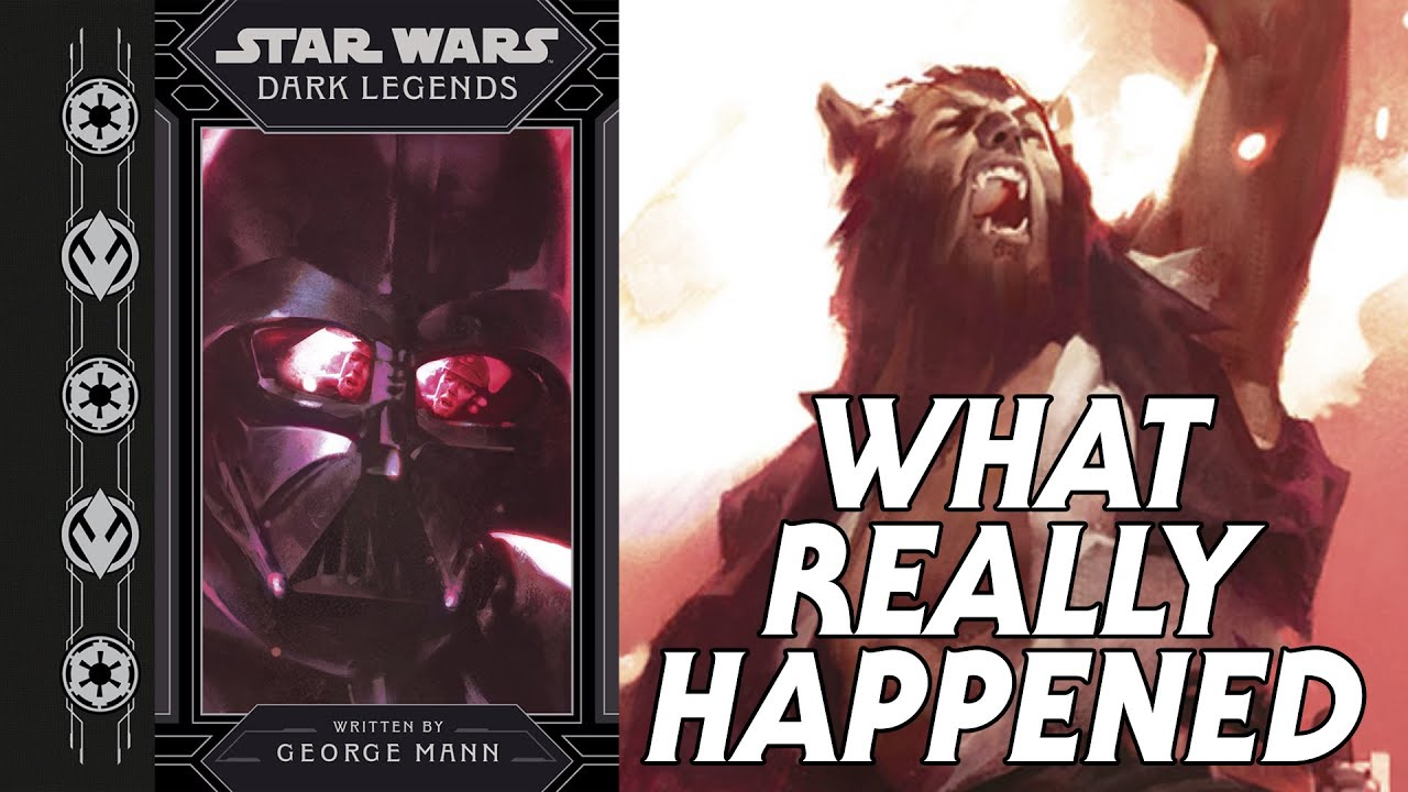What REALLY Happened in Star Wars: Dark Legends?