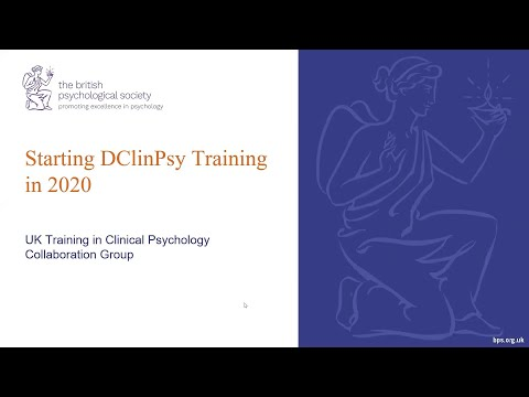 Starting DClinPsy Training in 2020 - UK Training In Clinical Psychology Collaboration Training Group
