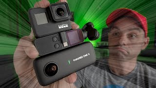 DJI Osmo Pocket vs Insta360 One X vs GoPro Hero 7 Black | Whats the BEST Stabilized Action Camera?