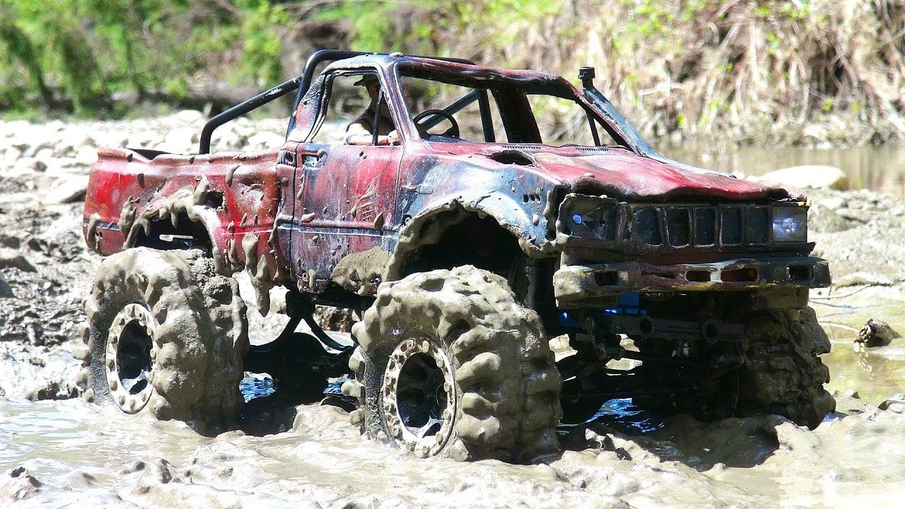 Rc Adventures Top Gear Mud Bogging Toyota Hilux