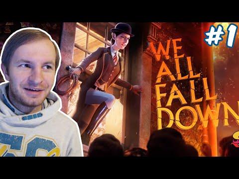 ВИКТОРИЯ БИНГ И ЕЕ ХЛЫСТ | We Happy Few DLC We All Fall Down #1