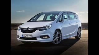 Обновленный Opel Zafira Tourer 2017