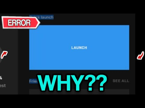 Fortnite Launch Error THE DEVICE EVENT NOT OPENING!(Why?)