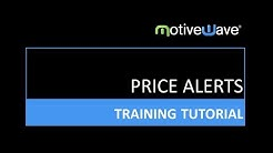 Price Alerts in the MotiveWave Trading Platform