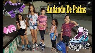 Andando De Patins - (Vlog Da Chaylla Alax)