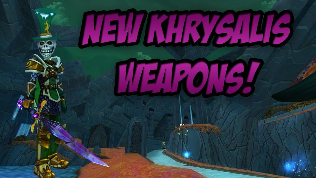 Wizard101: New Khrysalis Weapons - Casting the Talon of Pestilence