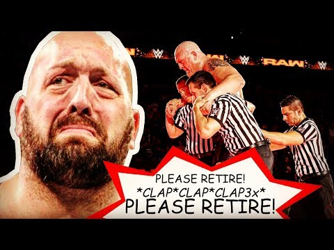 Is BIG  Retiring From WWE? 👋 Paul Wight Hip Injury After Braun Strowman Cage Match 😢