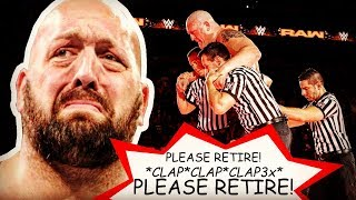 Is BIG SHOW Retiring From WWE? 👋 [Paul Wight Hip Injury After Braun Strowman Cage Match] 😢