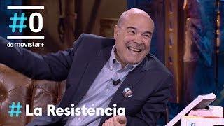 LA RESISTENCIA - Antonio Resines se hace youtuber   #LaResistencia 25.04.2019