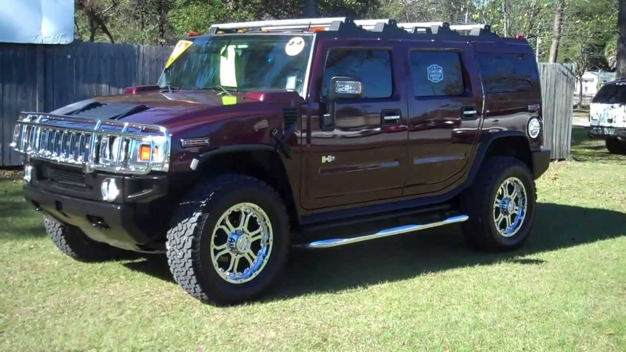 Used Hummers For Sale >> 2006 Hummer H2 SUV FOR SALE!! LEISURE USED CARS 850-265