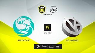 Beastcoast vs Vici Gaming, ESL One Hamburg 2019, bo2, game 2 [Adekvat & Mortalles]