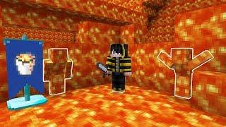 GÖRÜNMEYEN LAV OLDUM! - Minecraft SAKLAMBAÇ