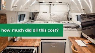 VAN LIFE // How much did our DIY Sprinter Van Conversion cost?