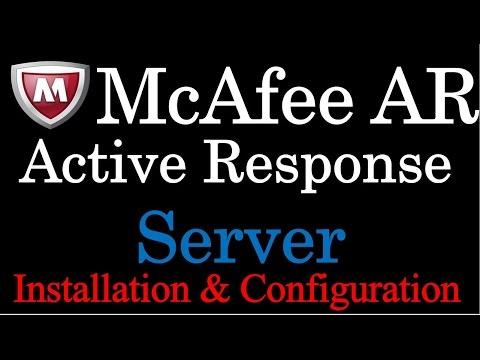 mcafee-active-response-server-installation
