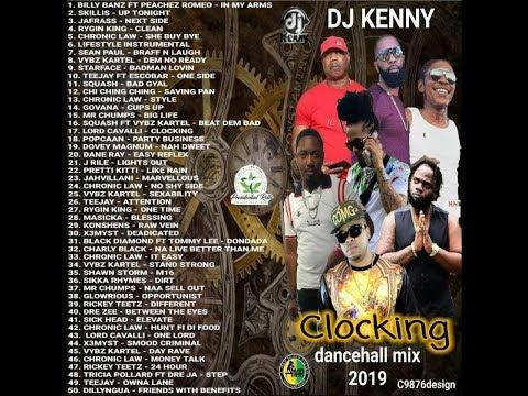DJ KENNY CLOCKING DANCEHALL MIX JUN 2019
