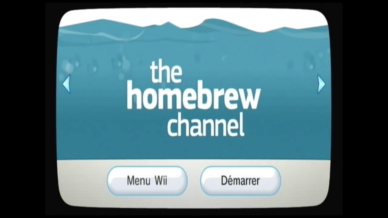homebrew channel wii 4.3e sans jeu