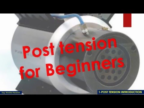 Post tension Introduction P1